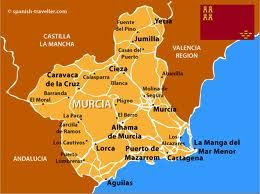 Map Of Spain La Manga.Murcia Map Murcia In 2019 Murcia Spain Murcia Spain