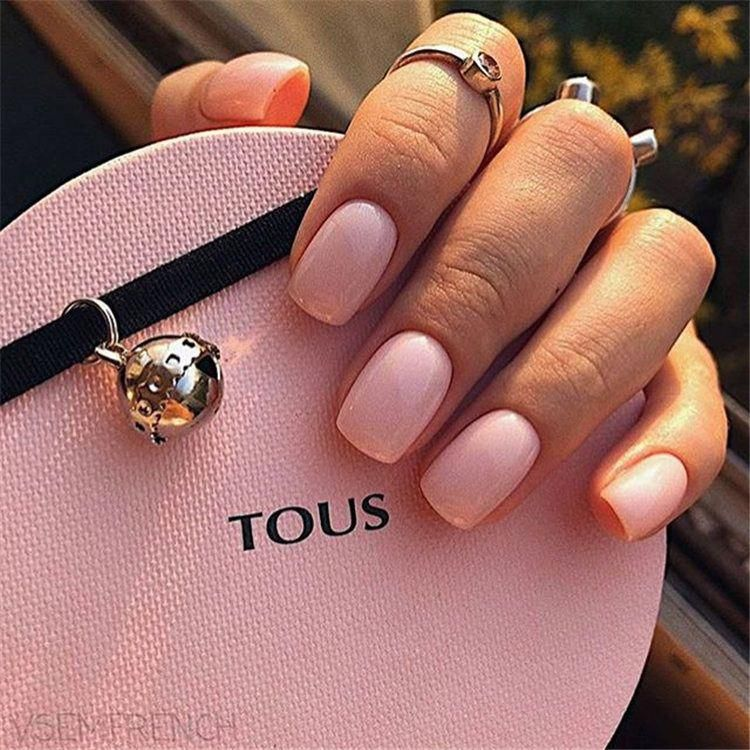 10 Popular Spring Nail Colors for 2020 | Neutral nails