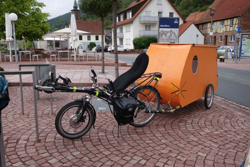 bicycle camper bicycle home and teardrops remolques. Black Bedroom Furniture Sets. Home Design Ideas