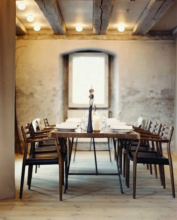 Scandinavian dining room in this case in the world famous restaurant noma copenhagen