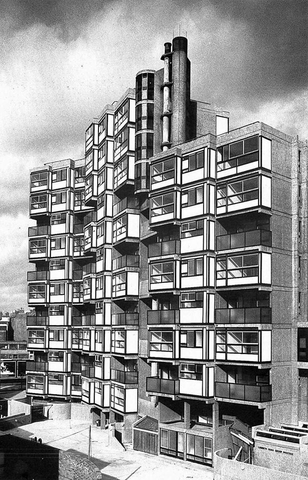 Lambeth Towers London 1968 George Finch For Lambeth Architects