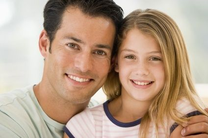 daughter dad teen Young and