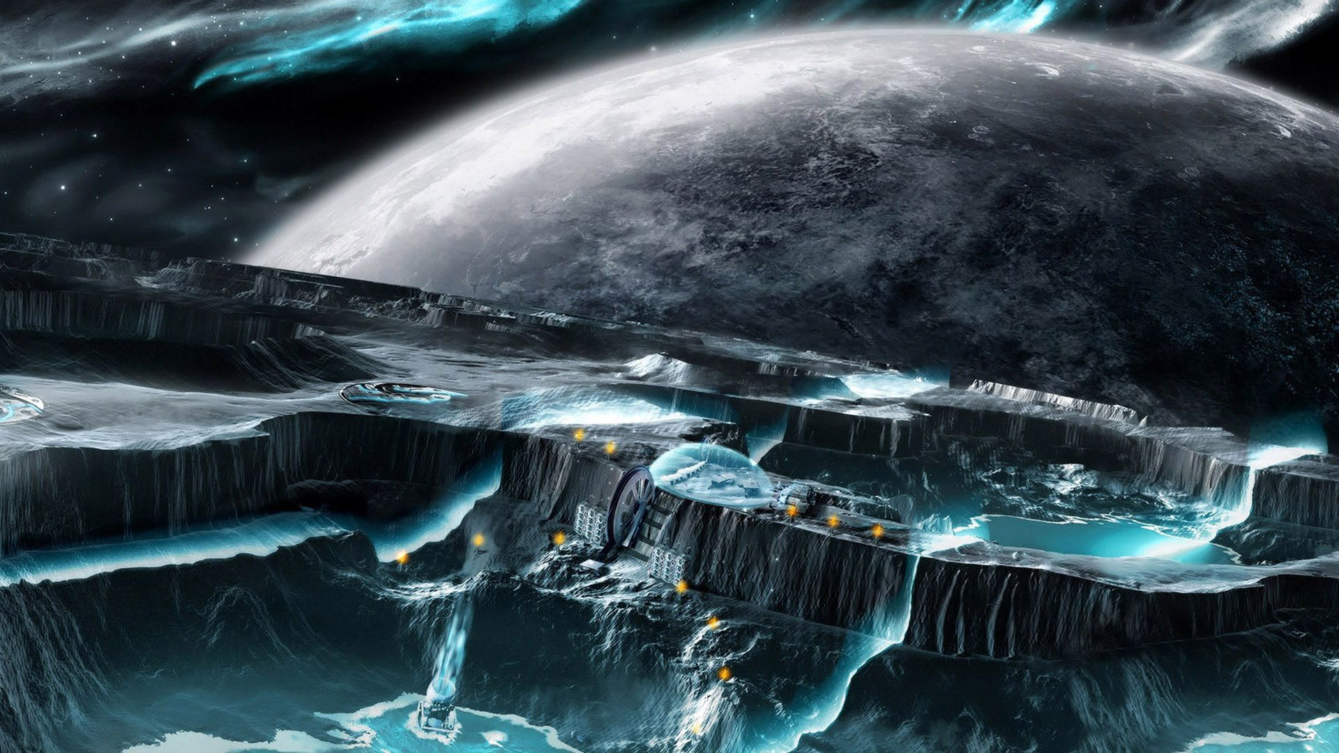 space fantasy hd desktop wallpapers : get free top quality space