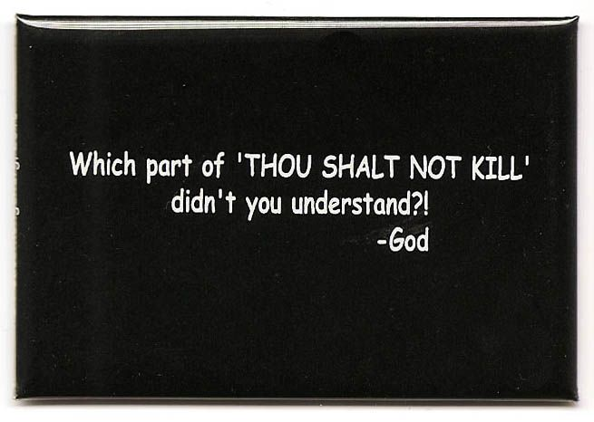 WHAT DOES THE FIFTH COMMANDMENT FORBID? The fifth commandment ...