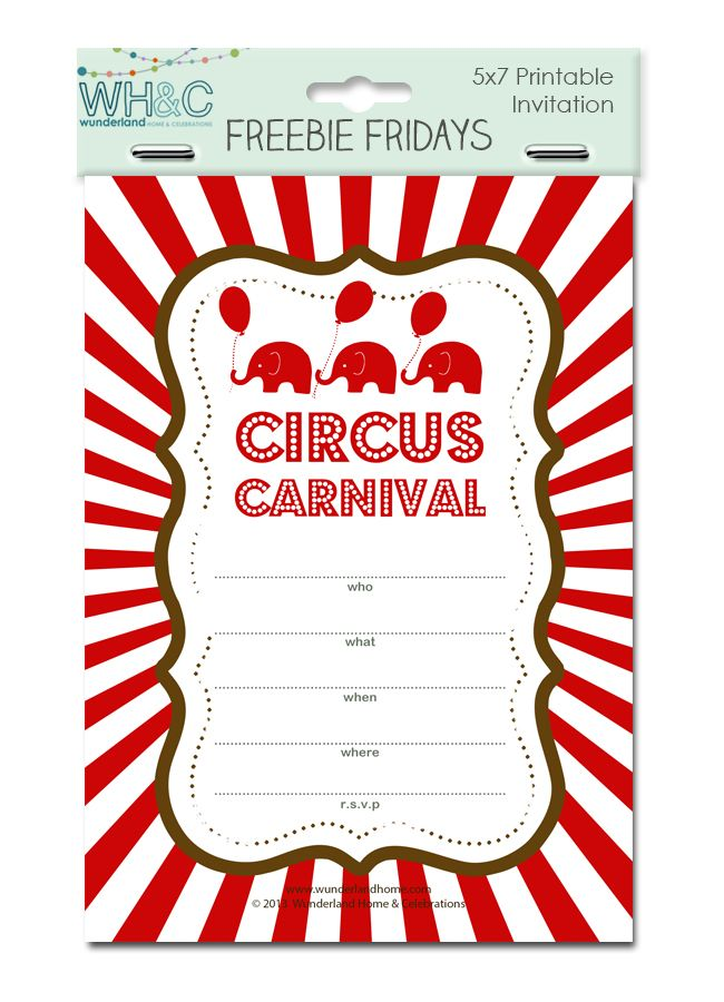 17 Best images about Carnival themed Bday on Pinterest | Carnival ...