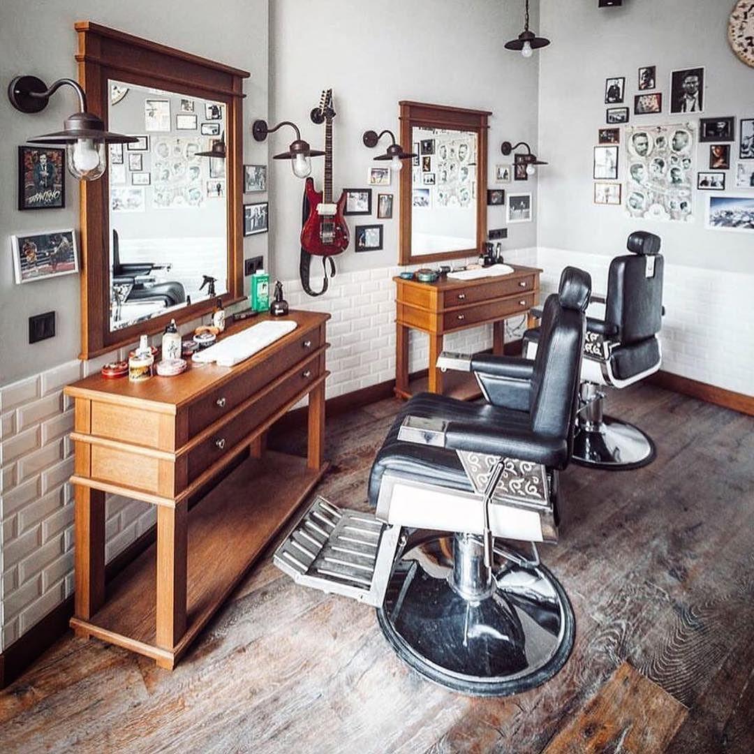 Bancada Da Barbearia Decoracao Barbearia Ideias Para Barbearias