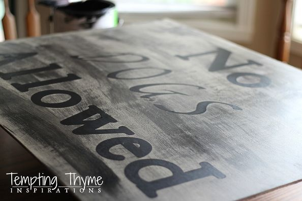 Creative DIY Dog Gate~ Using an Open Backed Picture Frame