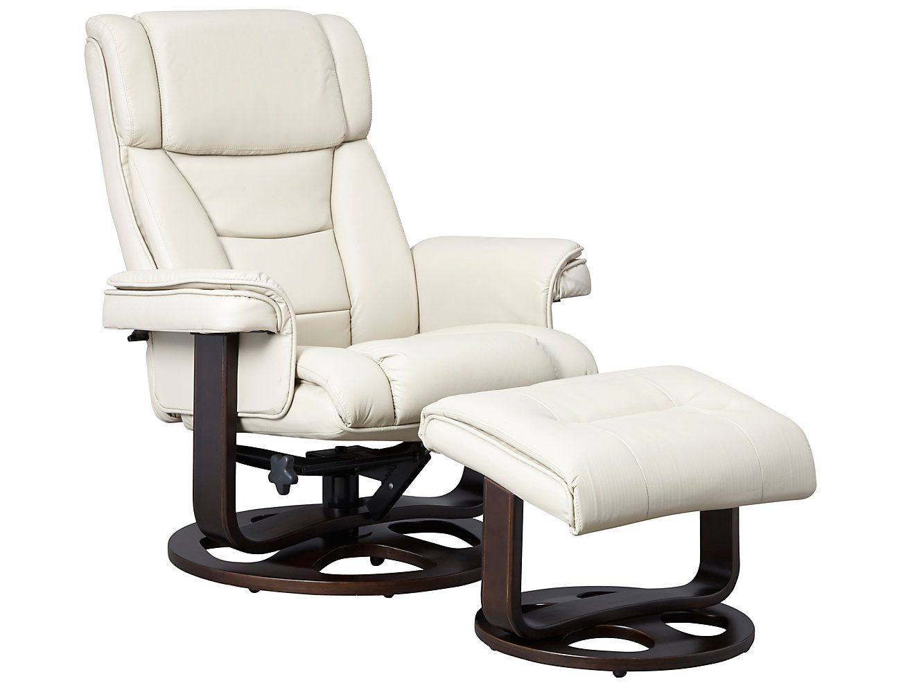 Apollo reclining chair and ottoman art van home with