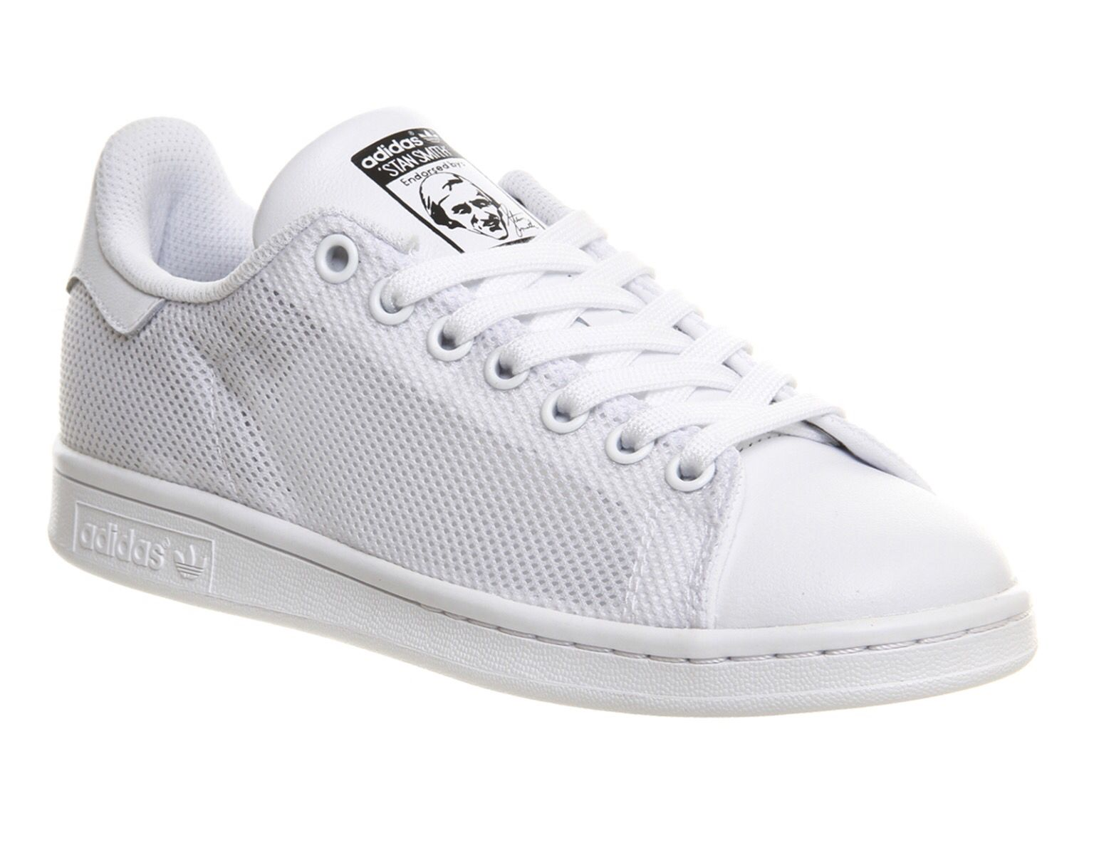 Adidas Stan Smith mesh trainers