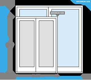 designer series sliding patio door