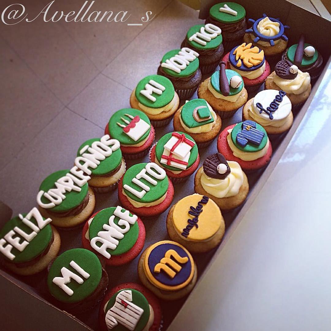 Cupcakes Beisbol