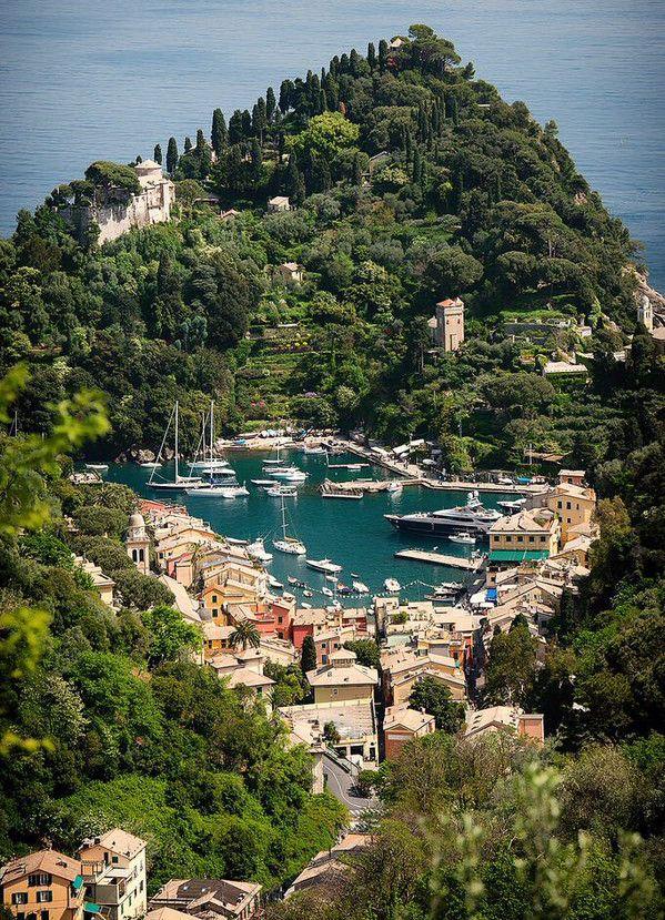 Liguria, Portofino, Italy ~ Hidden World Wonders