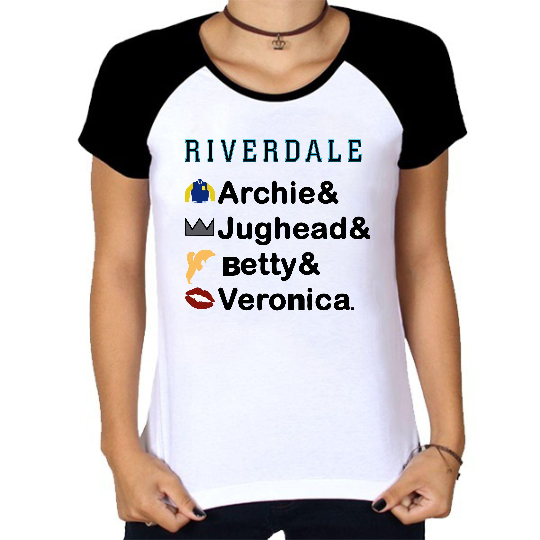 c23d43621a Camiseta riverdale integrantes personalizada. | Riverdale Camisas ...