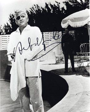 JAMES BOND 007 movie 8x10 photo signed by deceased signer Adolfo Celi.