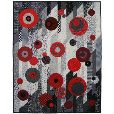Bubbles Quilt Pattern - Quick  Easy! http://www.victorianaquiltdesigns.com/VictorianaQuilters/PatternPage/Bubbles/Bubbles.htm #quilting