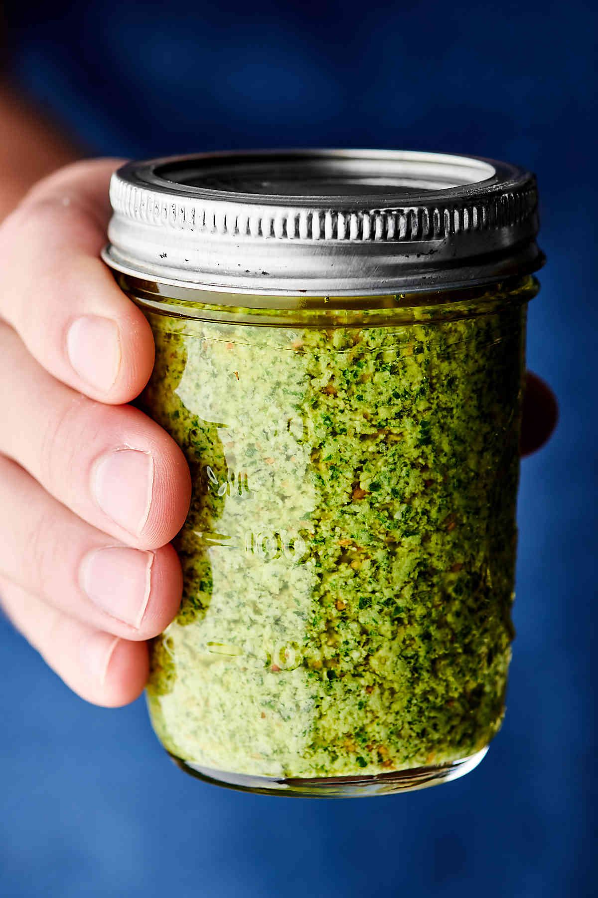 How to Make Easy Homemade Basil Pesto Recipe (With