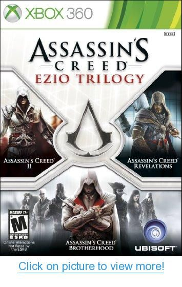 Assassin S Creed Ezio Trilogy Edition Xbox 360 With Images