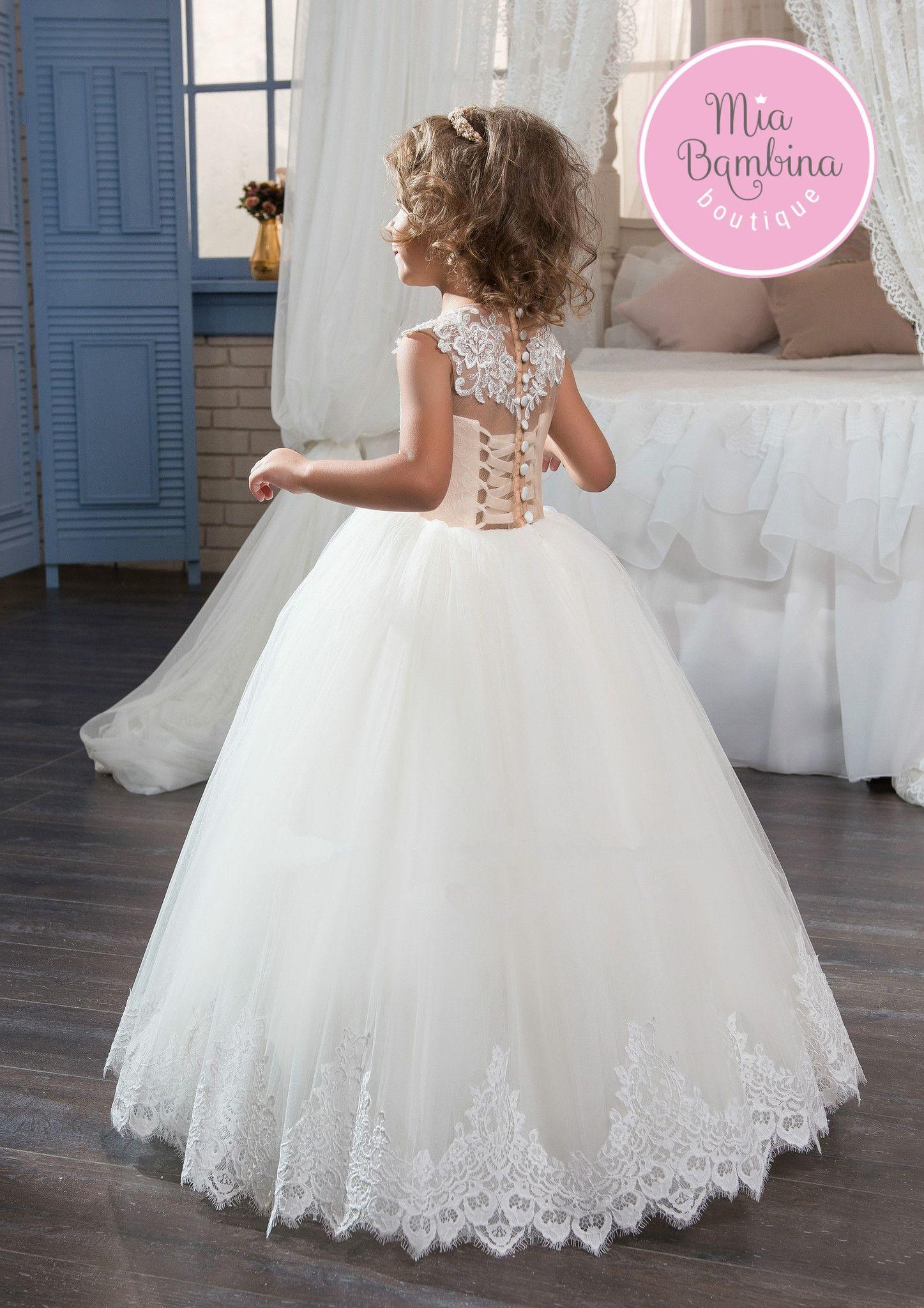 Pasadena | Wedding dress, Communion dresses and Lace applique