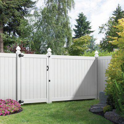 Xpanse Select Vinyl Railing 6 Ft H X 8 Ft W Wakefield Panel Garden Fence Panels Fence Panels Vinyl Privacy Fence