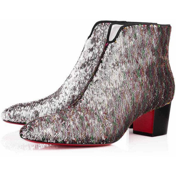 Christian Louboutin Disco 70s Leather Ankle Boots top quality pz5IrGbBfM