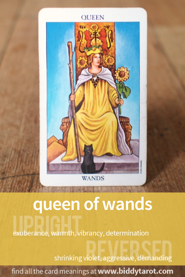 More Tarot Tuesday The Occult Detective The High: Queen Of Wands #tarotcardmeaning Learn More At Https://www