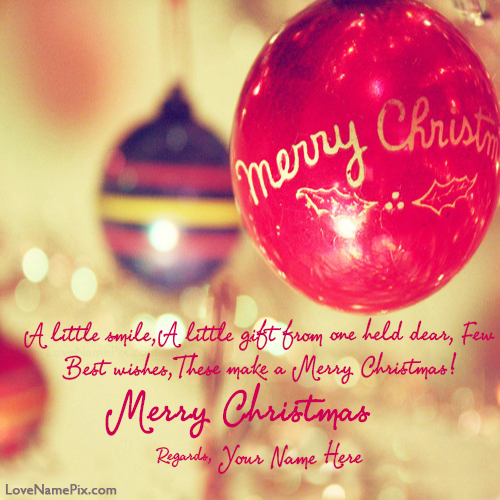 Merry Christmas Quotes Prepossessing Write Your Name On Best Merry Christmas Greetings Images With Quotes