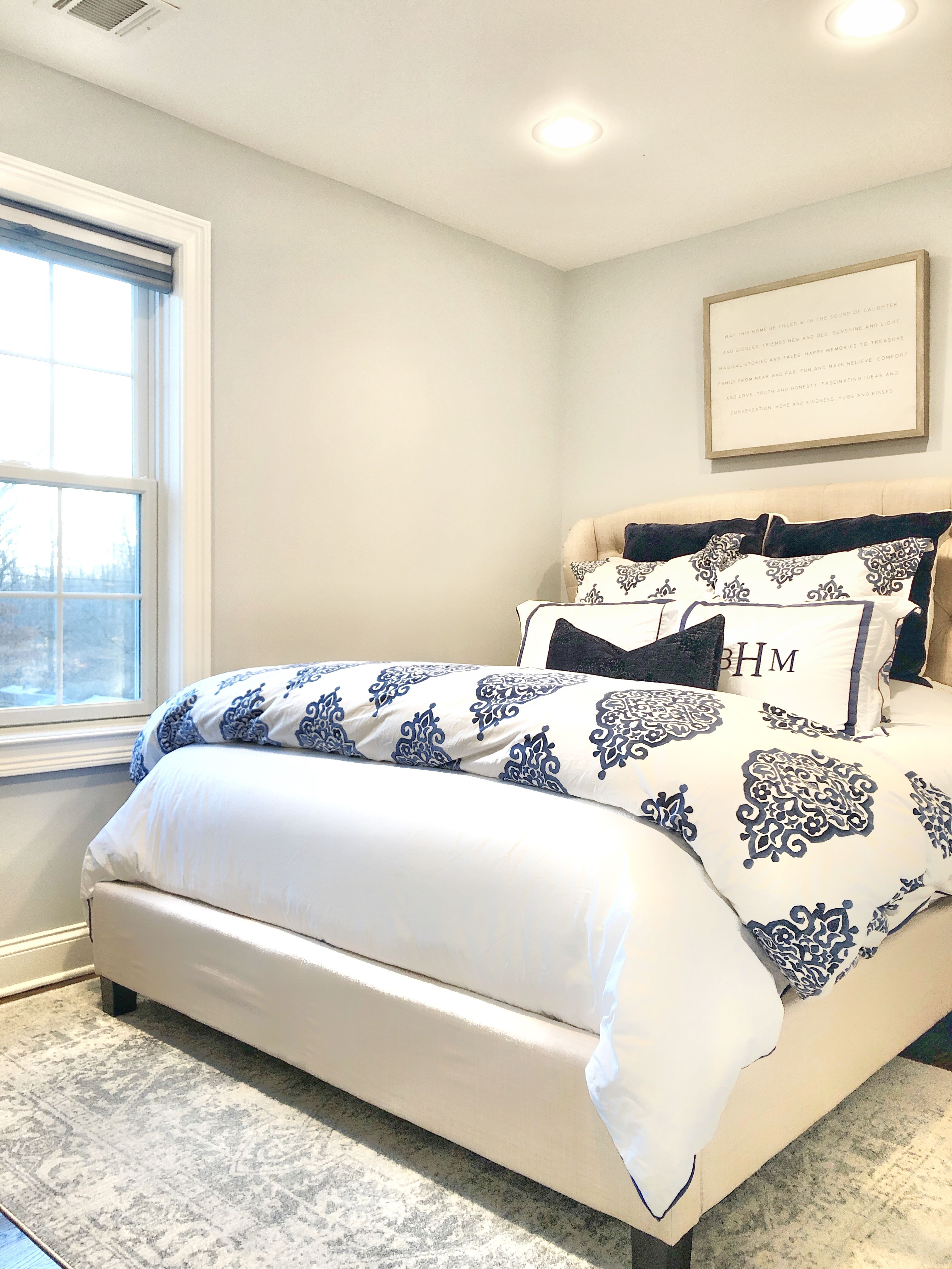 Pottery Barn Blue and White Bedding   Beautiful bedrooms ...