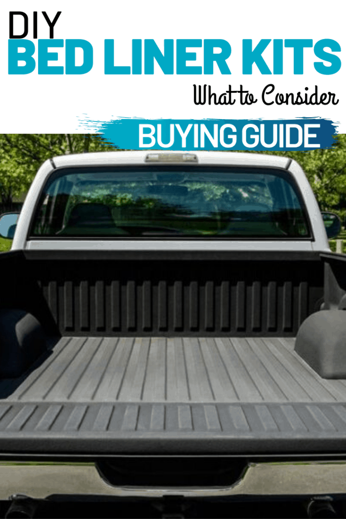 There are various DIY bed liner kits that are available