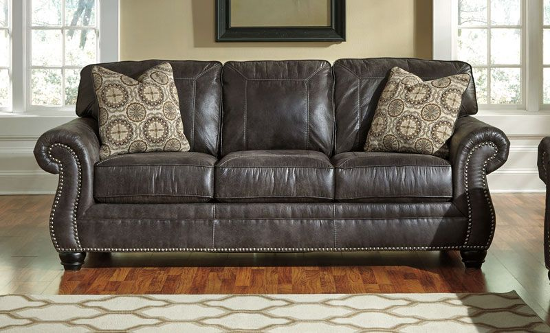Best Breville Charcoal Sofa Grand Home Furnishings 0233167 400 x 300