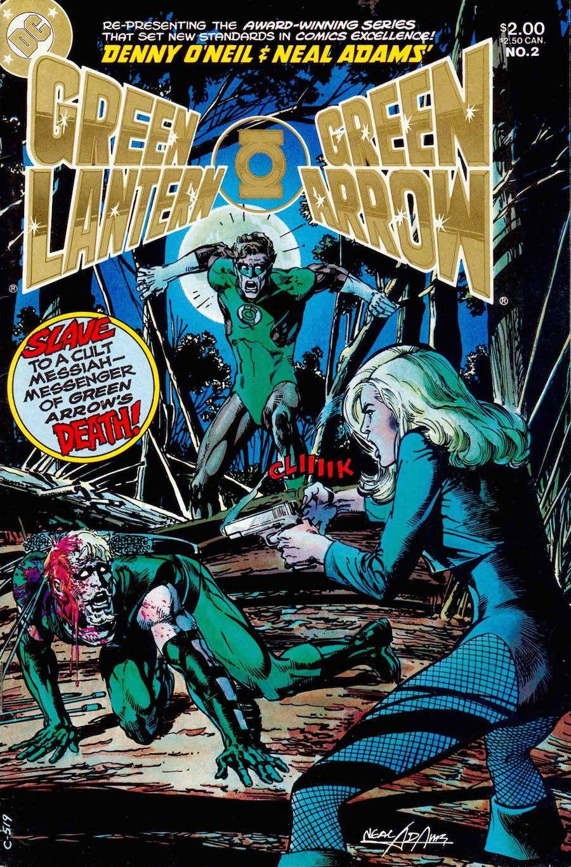 Pin By Lawrence Latsko On Neal Adams Green Lantern Green Arrow Green Arrow Comics