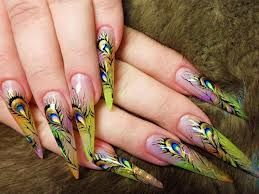 "- These are the real definition of "" Stiletto Nails """