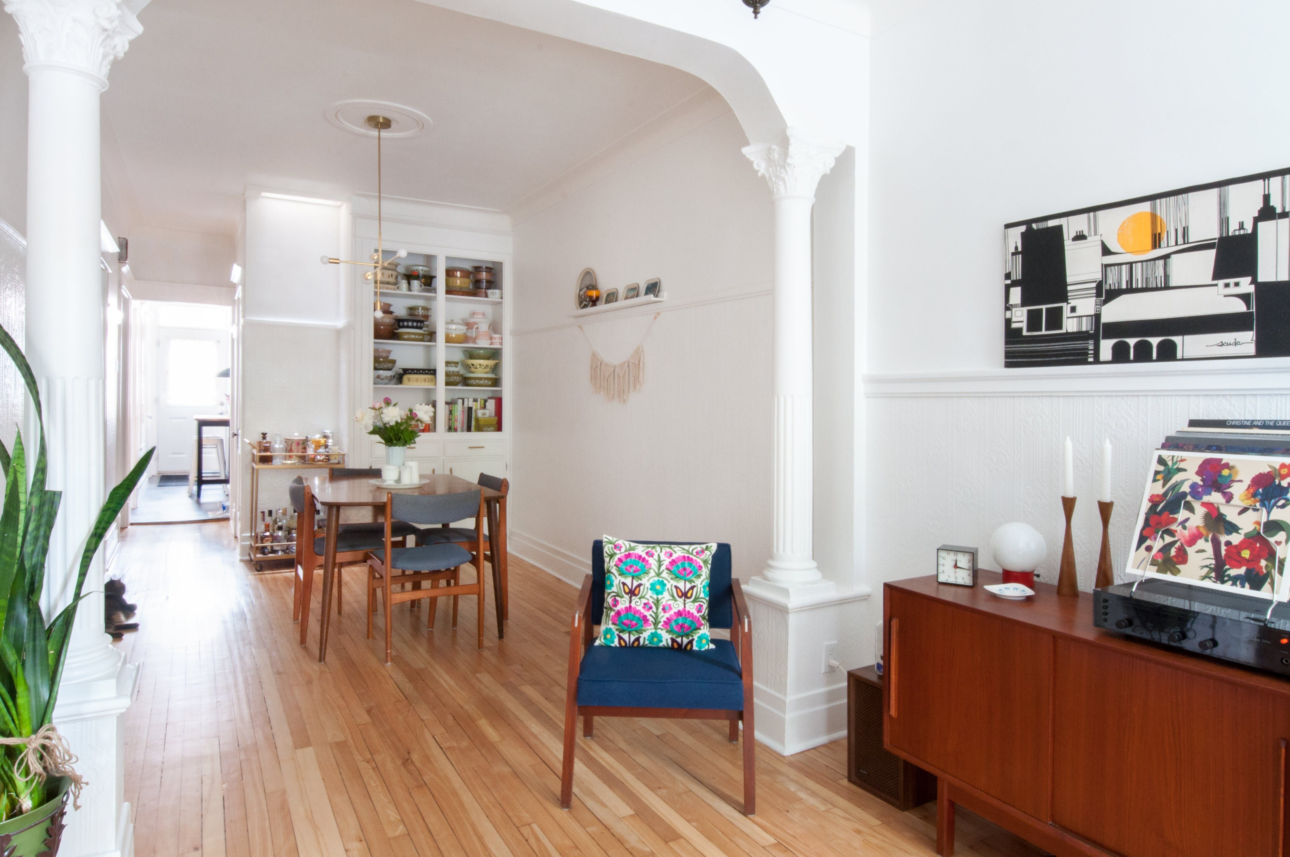 Serious Thrifters Renovate An Old Montreal Duplex Apartment