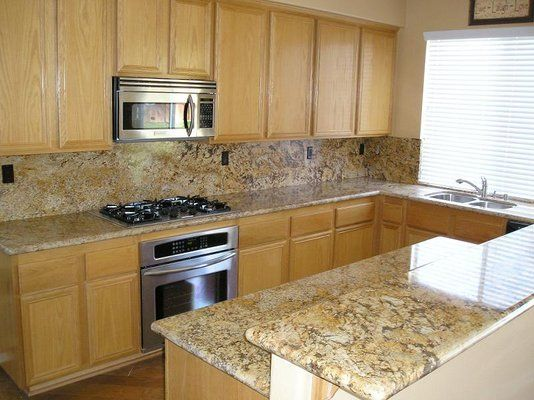A Backsplash Don T Granite Countertops Kitchen Replacing
