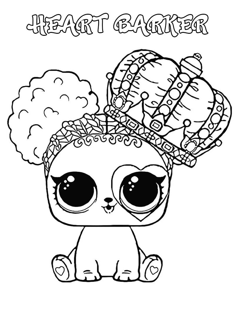 Lol Surprise Dolls Coloring Pages Print Them For Free All The Series Puppy Coloring Pages Cute Coloring Pages Unicorn Coloring Pages