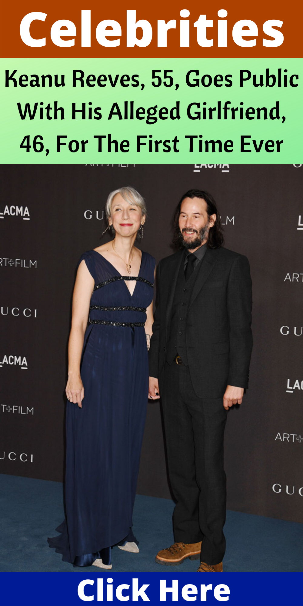 Keanu Reeves, 55, Goes Public With His Alleged Girlfriend