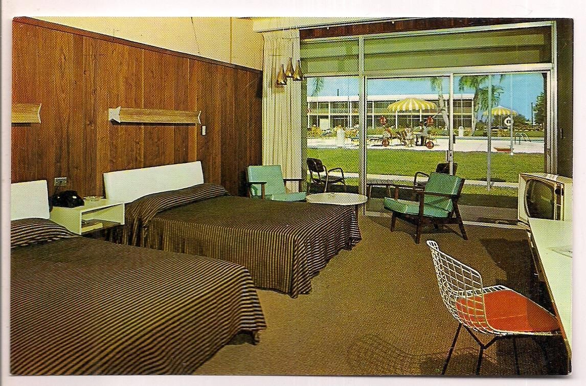 Rooms: Vtg Howard Johnson's Motor Lodge East Hillsborough Mid