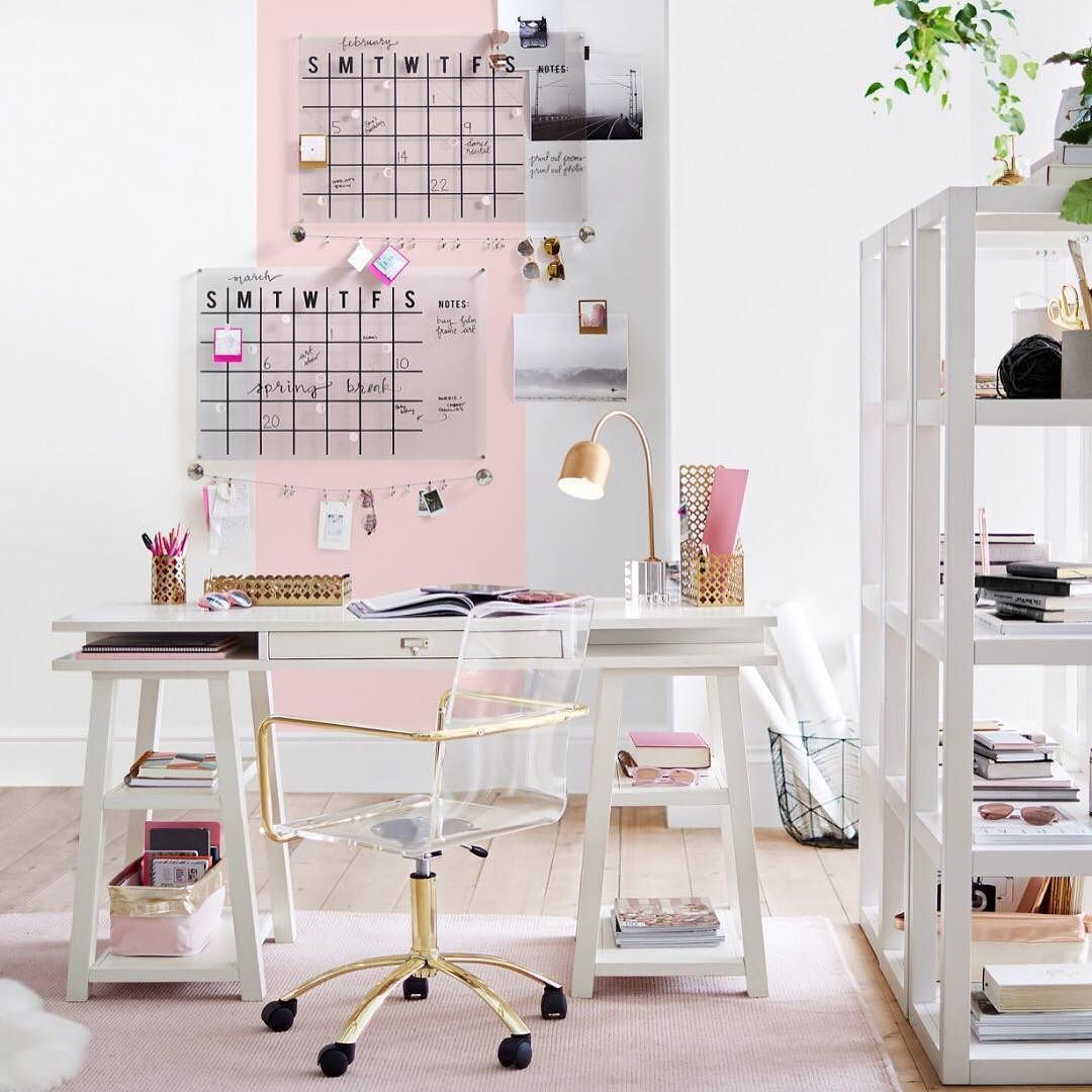 Top 19 Stunning Home Office Design  Chambre deco ado, Décoration