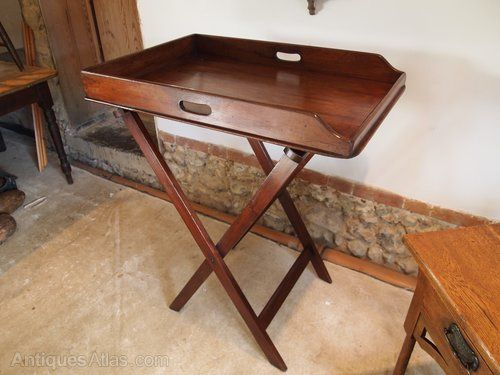Butlers Tray On Stand George III Mahogany C1790 - Antiques Atlas
