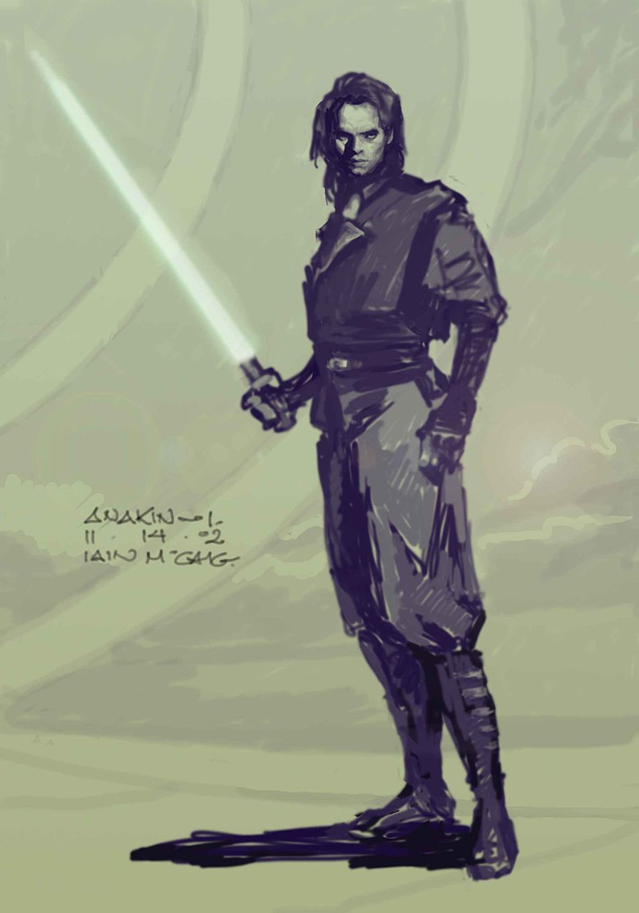 Artist Of Week - Iain Mccaig Star Wars