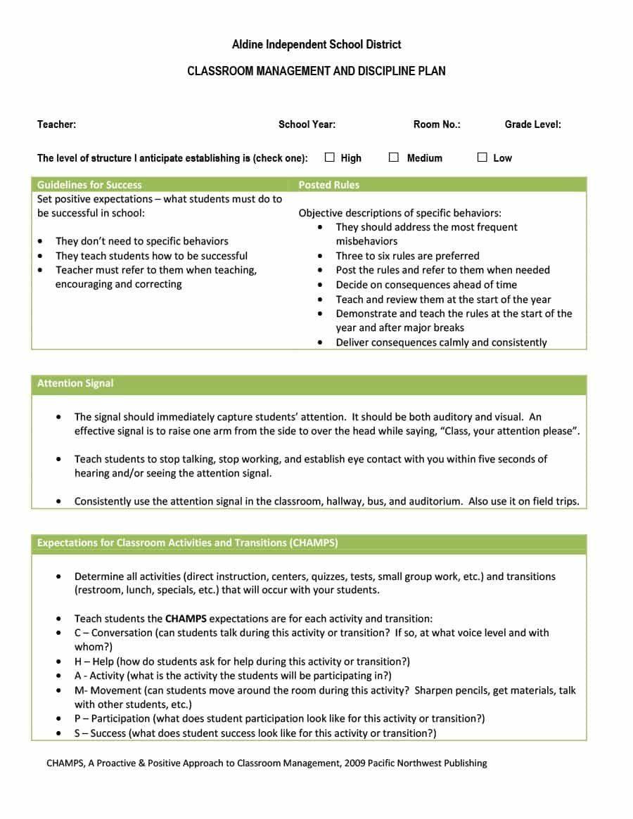 Champs Classroom Management Plan Template Elegant Online Champs Classroom Management Classroom Management Plan Classroom Management Champs Classroom Management