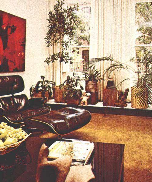 Bohemian 70 S Sunroom Stylecure House Design Photos Vintage House 70s Decor