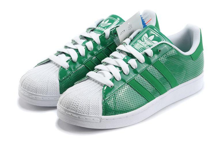 superstars adidas herren grün