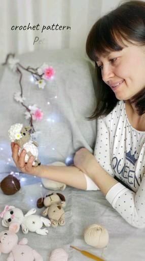 crochet Pets Pattern amigurumi Pets SET 4 in 1