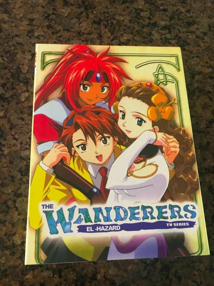 ANIME JAPANESE THE WANDERERS EL HAZARD TV SERIES ENGLISH