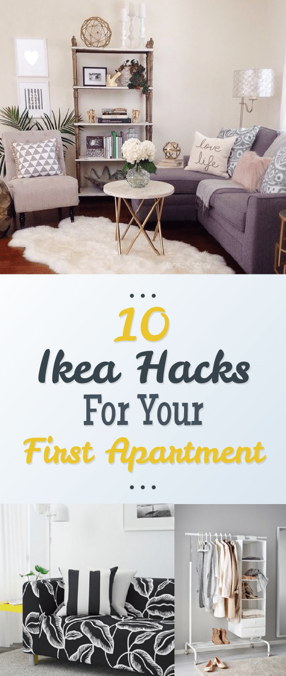 10 IKEA Hacks For Your First Apartment | Ikea small ...