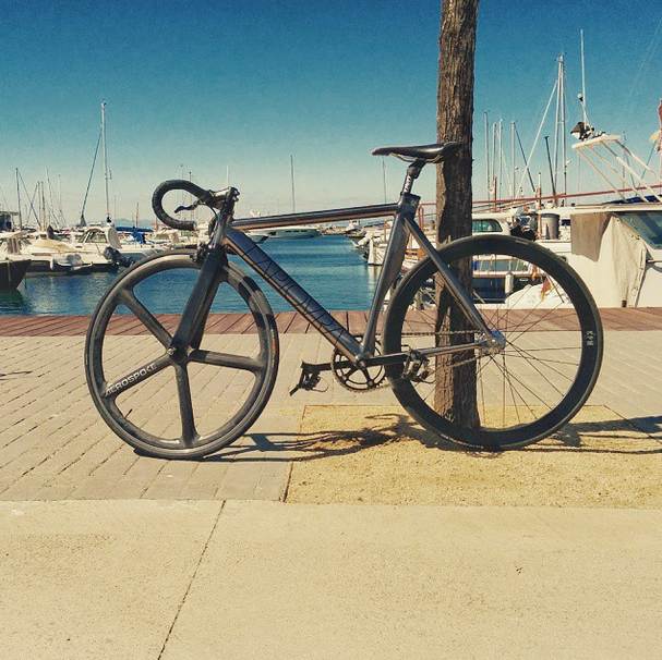 BLB La Piovra Aerospoke front wheel #fixie #fixedgear #bike #unicerebral