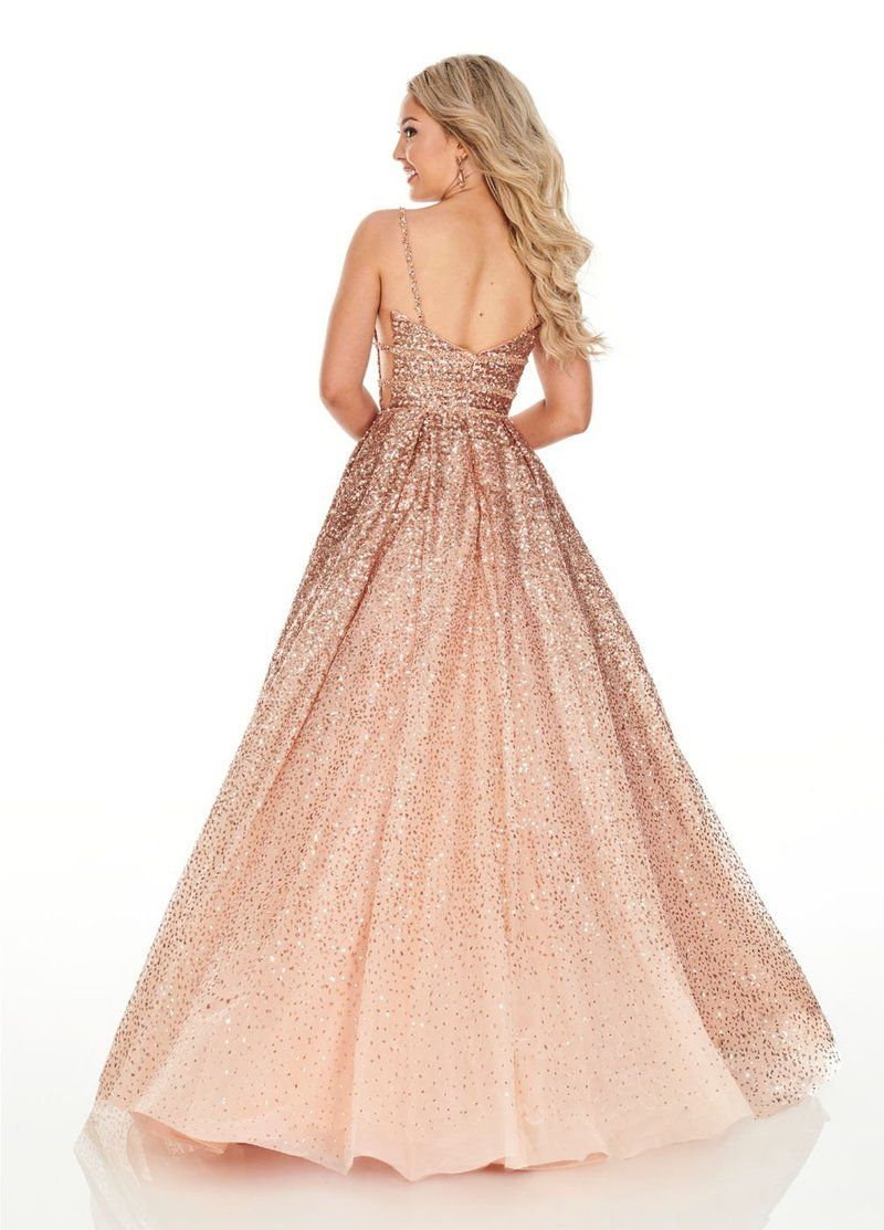 Rachel Allan 7107 Dress Peach Prom Dresses Senior Prom Dresses Ball Gowns [ 1113 x 800 Pixel ]