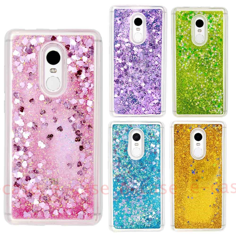 newest bceb4 35618 Details about Liquid Glitter TPU Moving Quicksand Bling Soft Gel ...