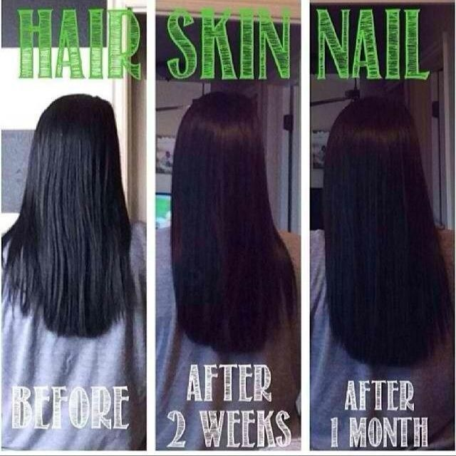 Results from just one month of Hair Skin and Nails by It Works ...