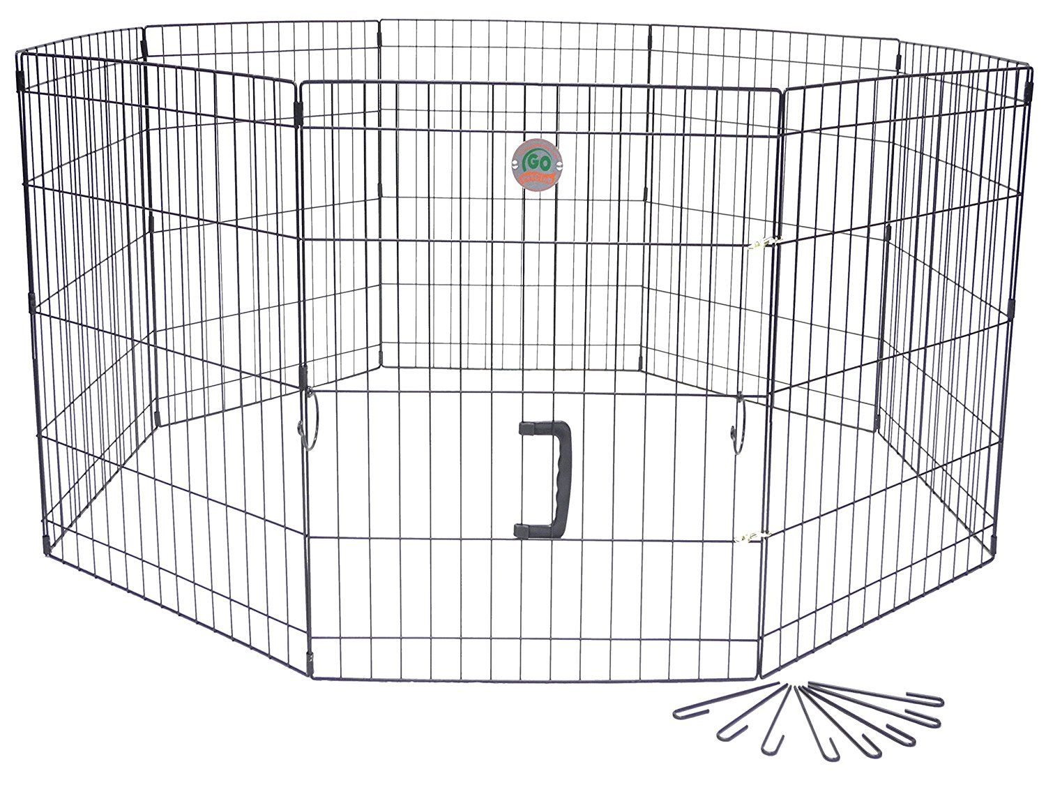 Go Pet Club 36-Inch High Wire Play Pen 8-Panels ** Click image to ...